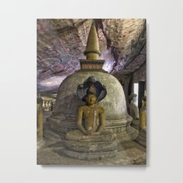 Temple within a cave Metal Print