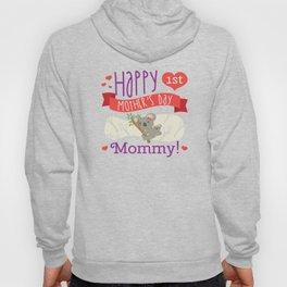 Happy Mothers Day Message Mom Grandma Koala Gift Hoody