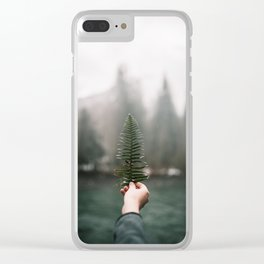 Northwest Fern Clear iPhone Case