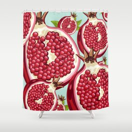Pomegranate 2 Shower Curtain
