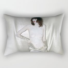 """say no to patriarchy / """"the prostitute"""" Rectangular Pillow"""