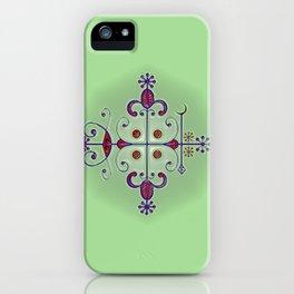 Voodoo Symbol Papa Legba iPhone Case