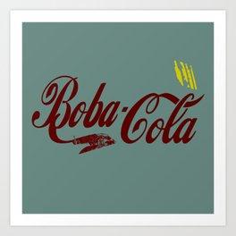 Boba Cola (fett colors) Art Print