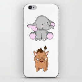 Animal Buddies iPhone Skin