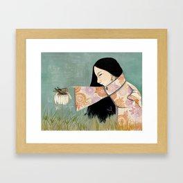 * PEQUEÑOS SERES * Framed Art Print