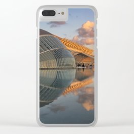 Valencia in the Evening Clear iPhone Case