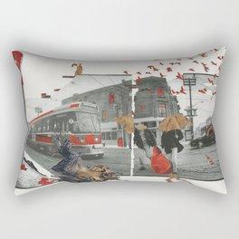 A Winter Afternoon Rectangular Pillow
