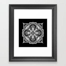 Omjarah, Absolute Framed Art Print