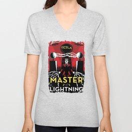 Master of Lightning Unisex V-Neck
