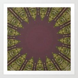 Better than Yours Colormix Mandala 10 Art Print