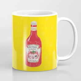 Kitschy Catsup Coffee Mug