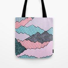 Mountain Tones Tote Bag