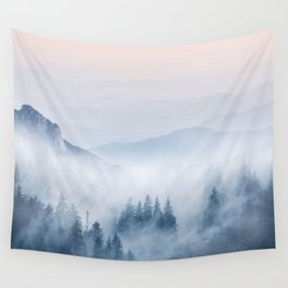 Pastel landscape 03 Wall Tapestry