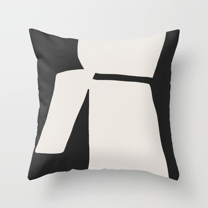 Wing my Back Throw Pillow