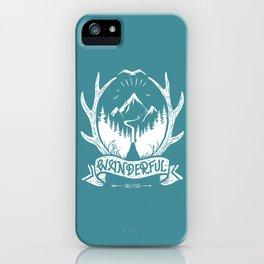 wanderful! iPhone Case