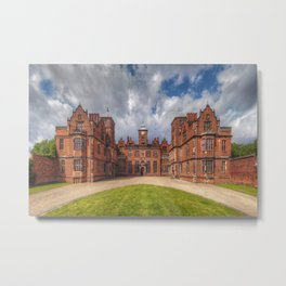 Aston Hall Metal Print