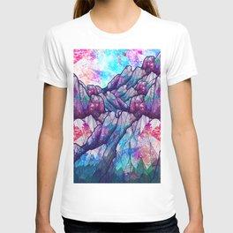 Colour tone peaks T-shirt