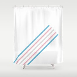 Transcend: On the Rise Shower Curtain