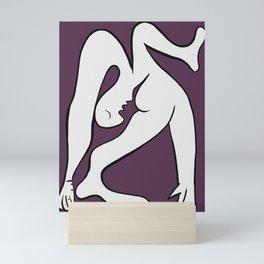 Picasso - Purple and White Mini Art Print
