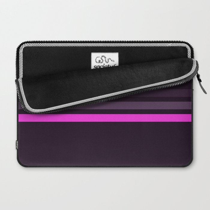 Alamak - Classic Retro Stripes Laptop Sleeve
