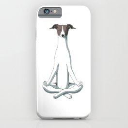 Yoga Italian Greyhound iPhone Case