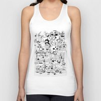 50s Tank Tops featuring US AND THEM  by ALVAREZ