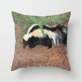 Lil Stinker Throw Pillow