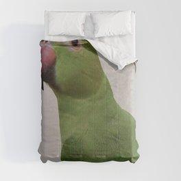 Cute Indian Parakeet Comforters