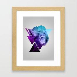 Altitude Growls Framed Art Print