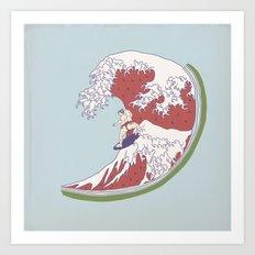 Summer Style Art Print
