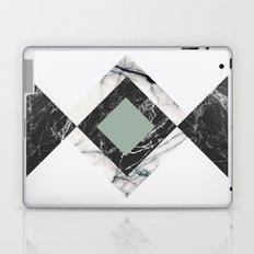 Green Marble Laptop & iPad Skin
