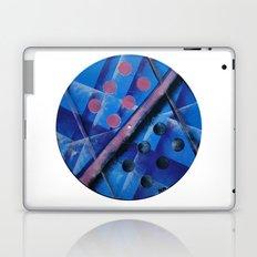 Vintage Blue Pop Laptop & iPad Skin