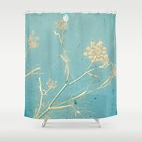 dance Shower Curtains featuring Dance by Cassia Beck