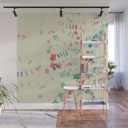 Staccato Wall Mural