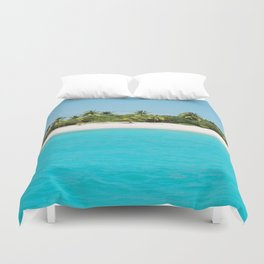 virgin island Duvet Cover
