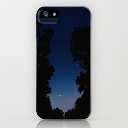 The Long Twilight Of Midsummer Nights iPhone Case