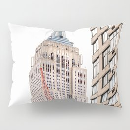 Empire State Building in New York Pillow Sham