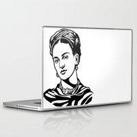 frida Laptop & iPad Skins featuring Frida  by b & c