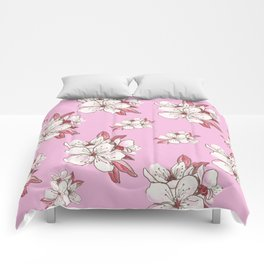 X-tra Ordinary Cherry Blossoms Comforters