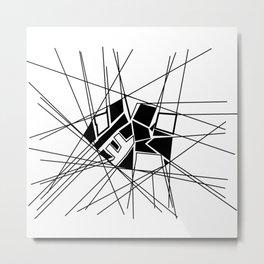 Ikasi Metal Print