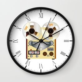 Rel To Reel Wall Clock