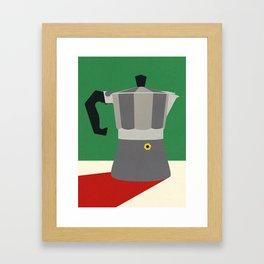 Espresso Italiano Framed Art Print