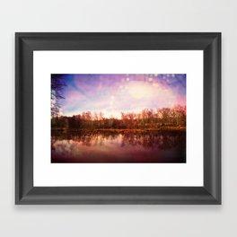 Catawba River Framed Art Print