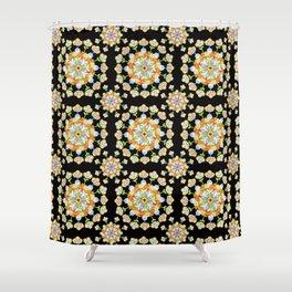 Jaipur Blossom Mandala Shower Curtain