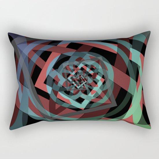 Celtic Droste Pattern Rectangular Pillow