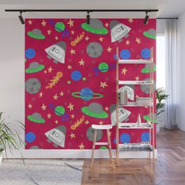 Space Ships Wall Mural