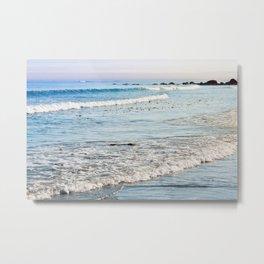 Summer Sea Metal Print