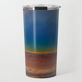 The Wonder of the Great Prismatic Spring Travel Mug