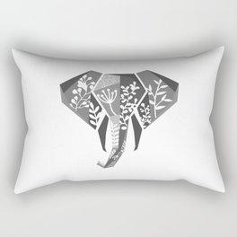 Jungle Elephant Rectangular Pillow