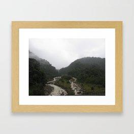 Rainforest Stream Framed Art Print